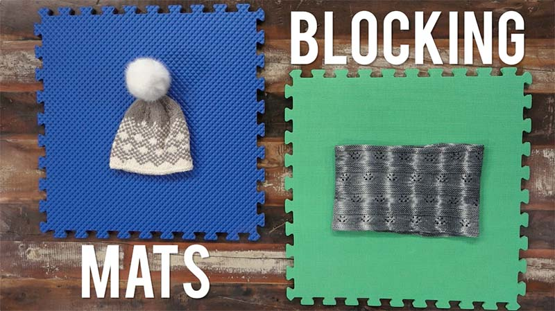 Interweave Yarn Hacks: Blocking Mats