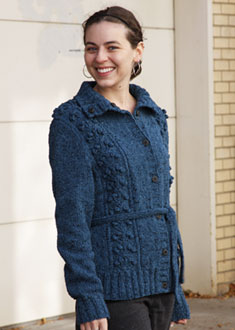 Knitting Gallery - Blooming Cardigan Annie