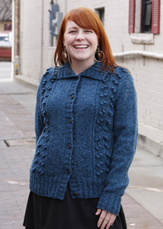 Knitting Gallery - Blooming Cardigan Meghan