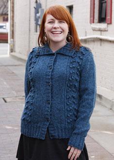Knitting Gallery - Blooming Cardigan Meghan