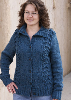 Knitting Gallery - Blooming Cardigan Debbie