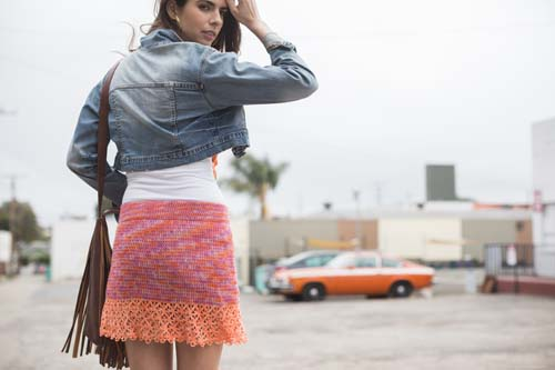 Boardwalk Skirt Crochet Pattern from Interweave Crochet Summer 2016