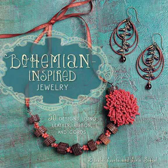 Bohemian Inspired Jewelry: 50 Designs Using Leather, Ribbon, and Cords by Erin Siegel and Lorelei Eurto - a jewelry-making, beading treasure trove of inspiration.