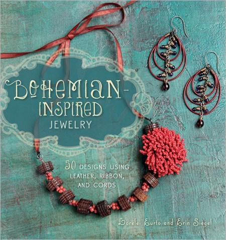 Interweave Editors' 10 Favorite Beading Books. Bohemian Inspired Jewelry by Lorelei Eurto and Erin Siegel