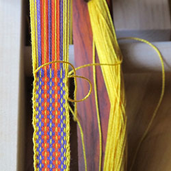 Inkle weaving pattern from Weaver's Inkle Pattern Directory by Anne Dixon