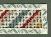 Aztec Stitch for a Bookmark Pattern