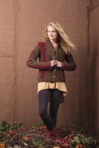 Boston Ivy Crochet Sweater