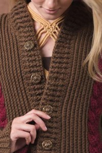 Boston Ivy Sweater with ribbed collar