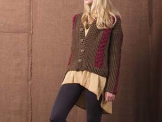 Boston Ivy Sweater Crochet Pattern