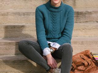 Botany Pullover Crochet Pattern