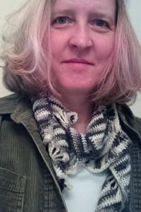 Boteh Scarf Crochet Pattern