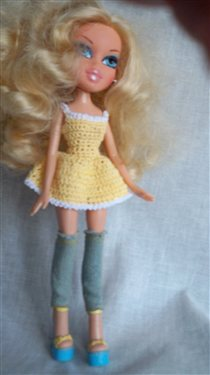 Knitting Patterns For Bratz Doll Clothes : Crocheted Bratz Sun Dress - Interweave