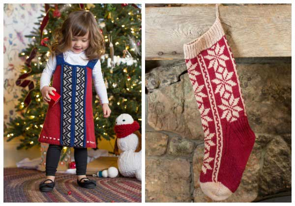 Holiday knitting takes a literary turn in these darling kits based on Jan Brett books.