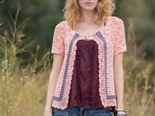 Bristol Lace Cardigan Crochet Pattern