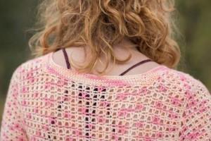 Bristol Lace Cardigan back collar