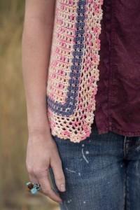 Bristol Lace Cardigan edging