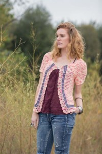 Bristol Lace Cardigan front