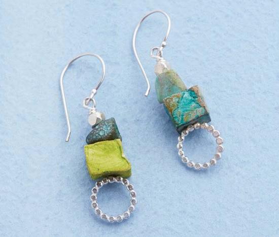 BubbleWand-headpin-earrings-DenisePeck