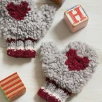 Buff Mittens for a Child, Joanna Johnson