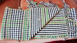 Fern Jordan's modified Burns tartan