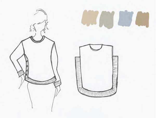 buttonsidesweatersketch