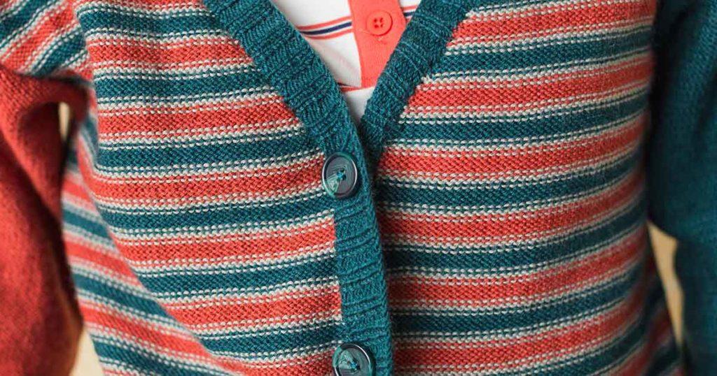 <em>knitscene</em> Fall 2018: Cate Cardigan