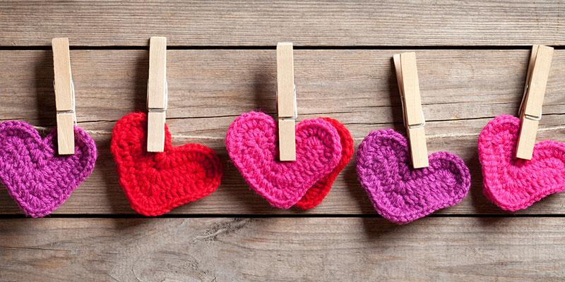 Valentine Inspired Patterns We Love