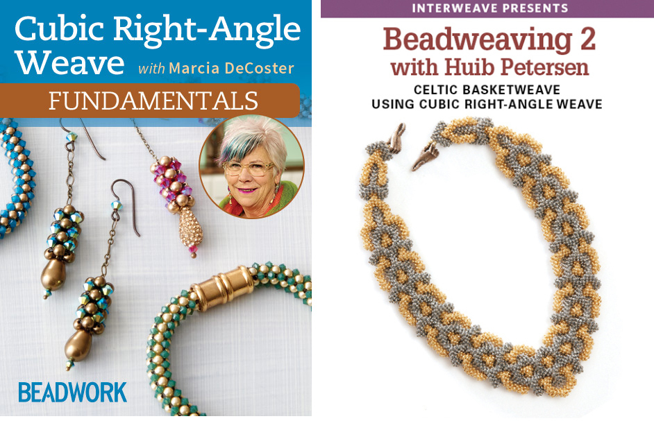 cubic right-angle weave bead weaving techniques