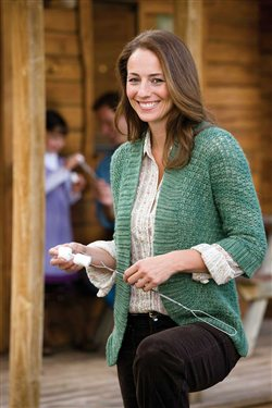Beautiful crochet ribbing cardigan