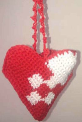 Crochet Accessories 2014-heart