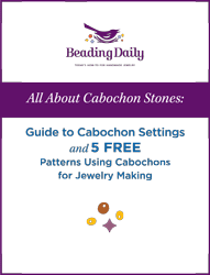 Learn everything you need to know about cabochon settings in this FREE ebook.
