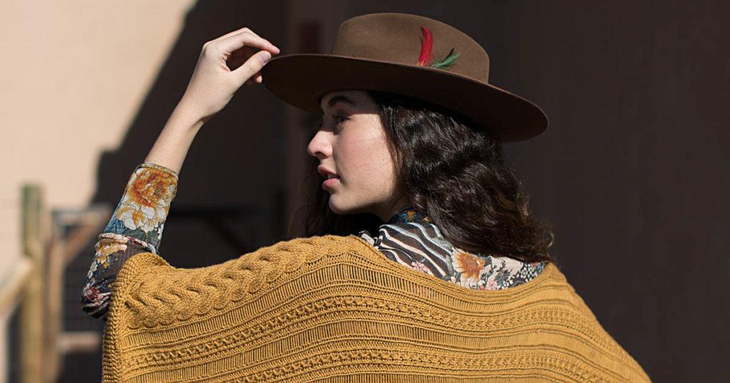 Pattern of the Week: Cadencia Poncho