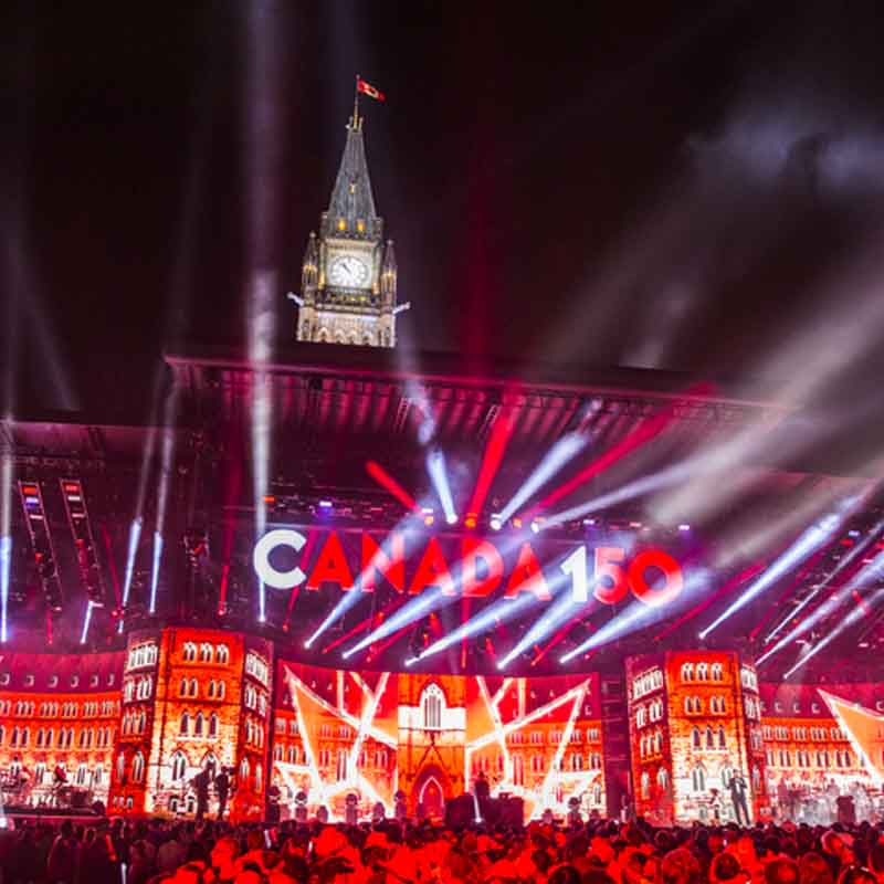 OTTAWA, ON - JULY 01:  General atmosphere during Canada Day celebrations at Parliament Hill on July 1, 2017 in Ottawa, Canada.  (Photo by Mark Horton/Getty Images)