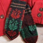 Carnation Mittens, Lita Rosing-Schow