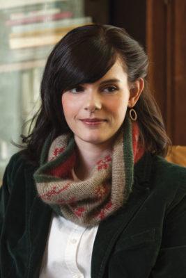 Carol's Mystery Cowl to Knit, Carol Huebscher Rhoades