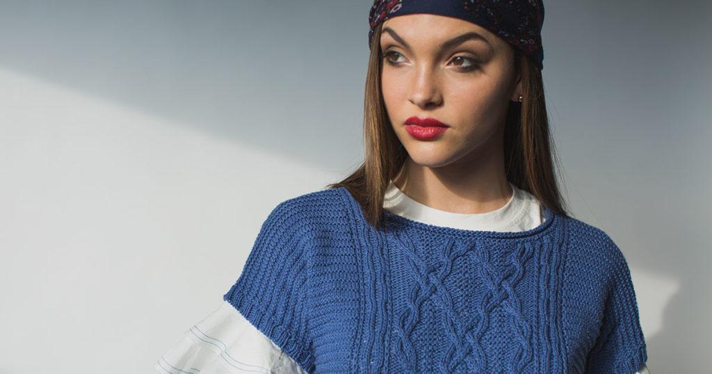<em>knit.wear</em> Spring/Summer 2018: Caspian Top