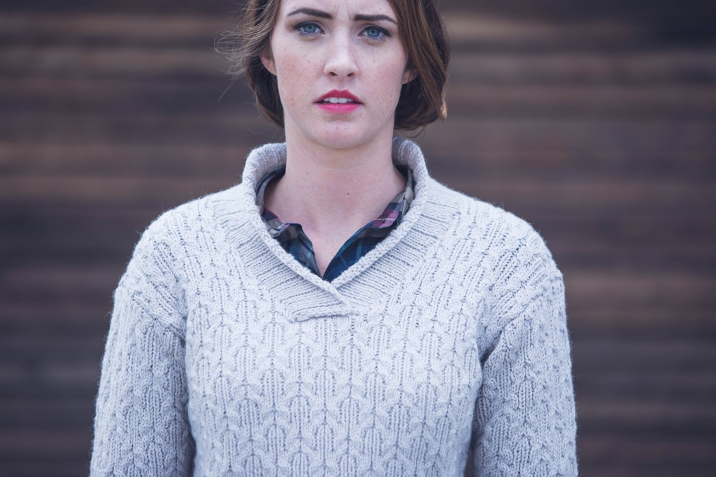 Cassie Castillo Shiloh Sweater knit sweater pattern