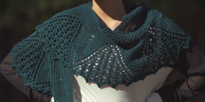 Shawls for Spring: The Catlett Shawl