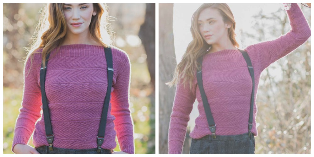 herringbone knitting patterns
