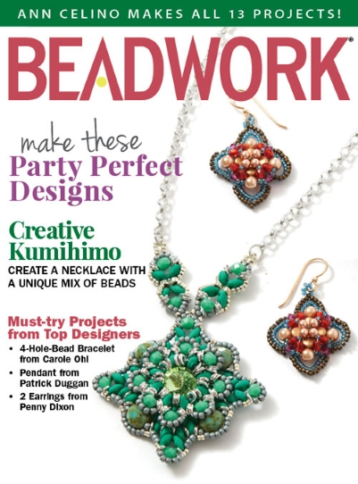 How a Beadwork Reader Completed All 13 Projects in One Issue