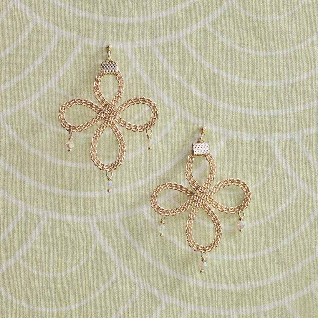 Kumihimo Wirework Made Easy: Celtic Earrings