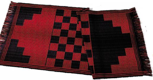 Checkerboard Rep Rug