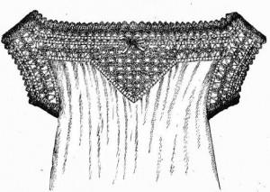 chemise trimming needlework weldon's