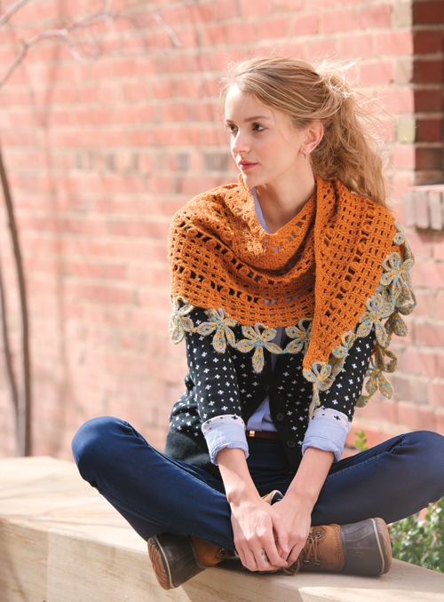 Chestnut Wrap Crochet Pattern