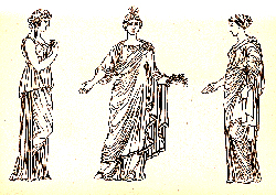 Handwoven garments from ancient Greece