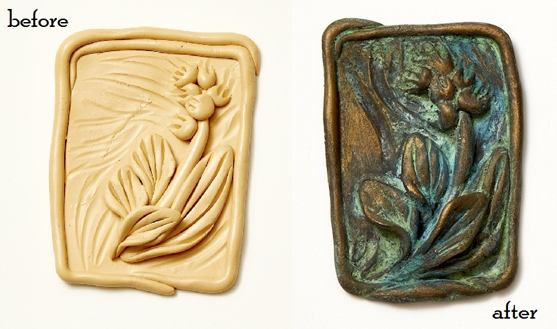 Christi Friesen Art of Aging Polymer Clay Jewelry