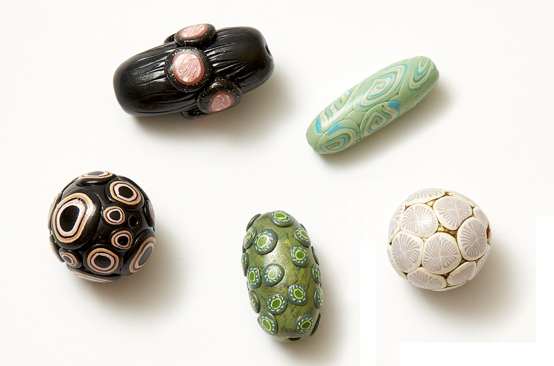 polymer clay online workshops with Christi Friesen cane beads