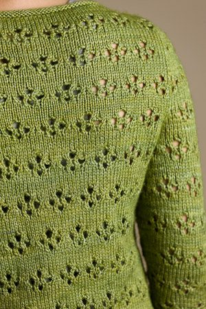 You'll love this small knitting project that includes a knitted pullover pattern called Vergennes Pullover...perfect for travel knitting.