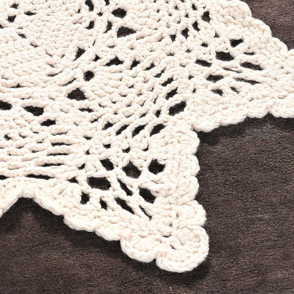 crochet doily rug