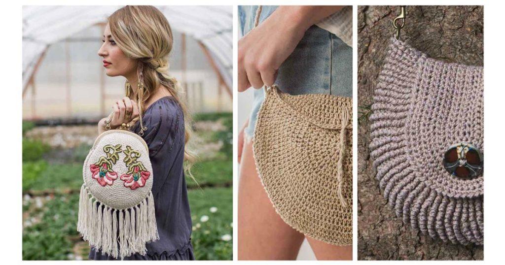 Trend Alert: Crochet Circle Bags!